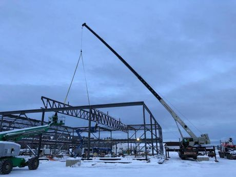 Micmac Toyota Steel Erection in Whitehorse
