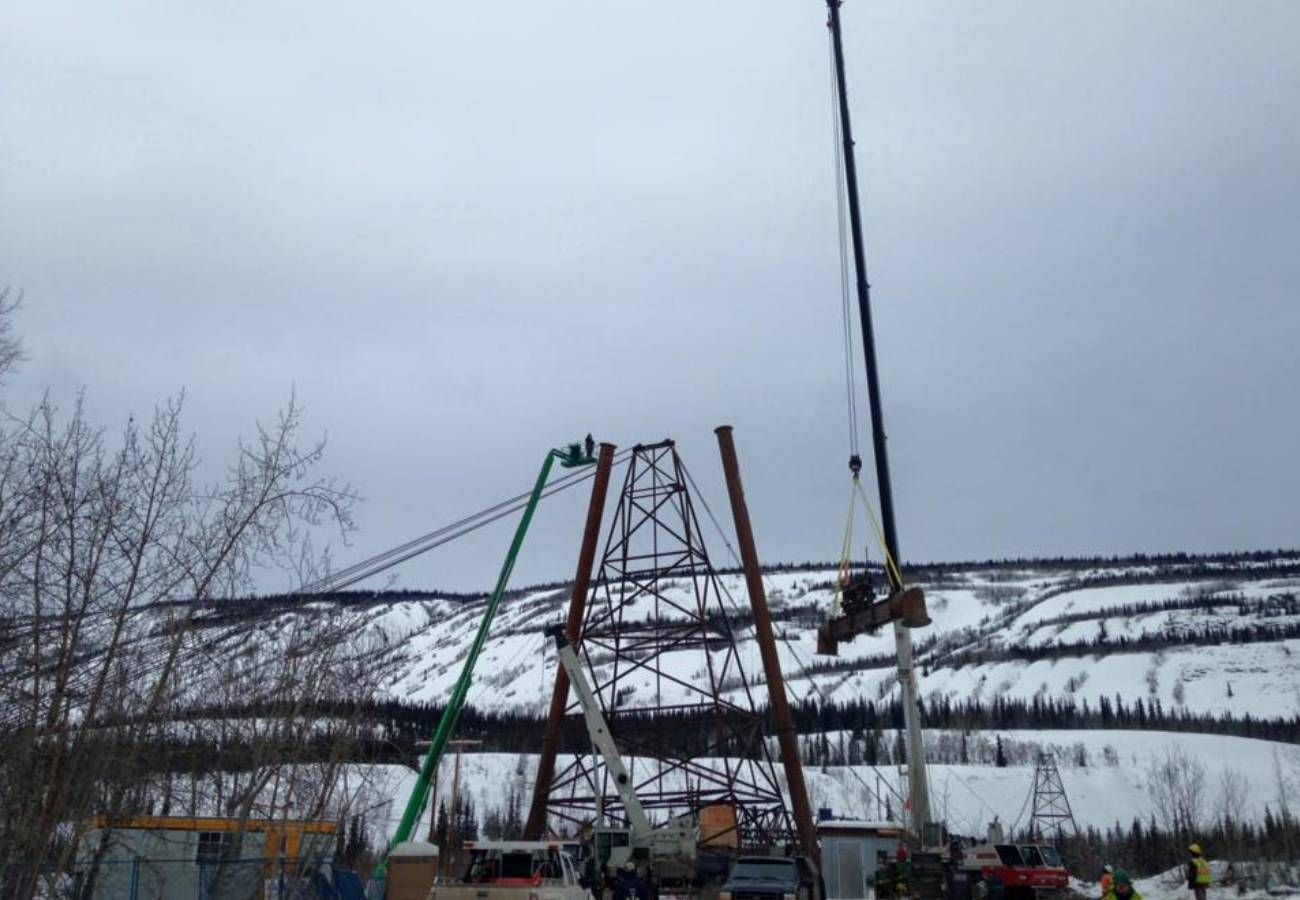 Ross River Bridge Replacement - Winter 2014