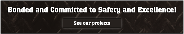 steel fabricators Whitehorse - Bonded and Committed to safety and Excellence!